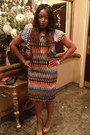 African-print-custom-made-ankara-dress-dress-black-guess-clutch-clutch-bag