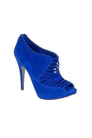blue suede pumps Aldo shoes