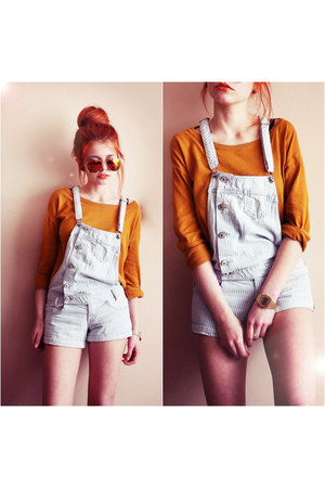 carrot orange pull&bear sweater