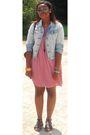 Pink-primark-dress-primark-accessories
