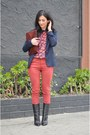 Black-giuseppe-zanotti-boots-brick-red-rag-bone-jeans-navy-zara-blazer