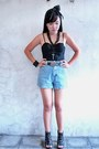 Light-blue-vintage-shorts-black-victorias-secret-black-freego-belt-black-p