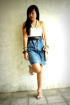 Lace and denims