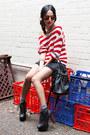 Black-jeffrey-campbell-boots-black-alexander-wang-bag-black-diy-shorts-red