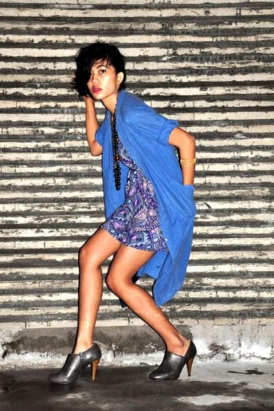 Zara shoes - Dorothy Perkins dress - accessories - blazer