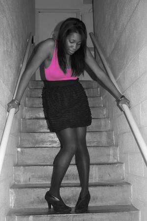 Topshop dress - shoes