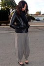 Black-james-perse-shirt-black-forever21-jacket-gray-love21-pants-black-ban