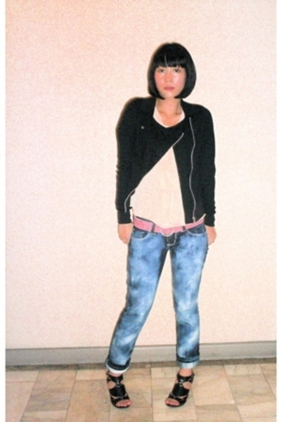 random in bangkok jacket - Maud top - Salad belt - F&H jeans - Anthem shoes
