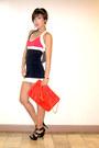 Red-zara-bag-black-leather-michael-kors-heels
