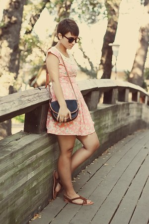 Dahlia dress - vintage purse - Urban Outfitters sandals