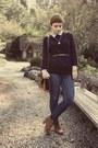 Jeans-purse-blouse