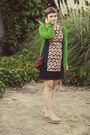 The-webster-dress-vintage-purse-forever-21-cardigan-dsw-wedges