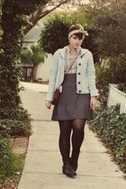 Ross boots - vintage top - American Apparel skirt