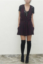 Urban Outfitters shirt - vintage dress - socks - shoes
