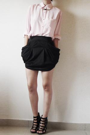 fete des morts blouse - MISS MARS skirt - shoes - accessories