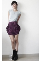 t-shirt - MISS MARS skirt