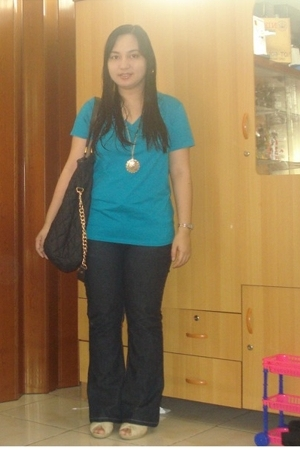 Uniqlo shirt - Dorothy Perkins jeans - korea accessories - hongkong shoes - H&M