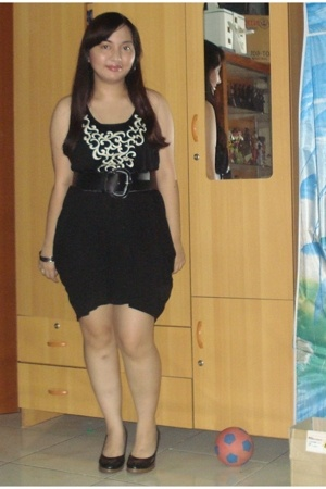 Topshop dress - hongkong shoes