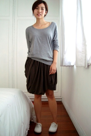 Gap shirt - Store for all Seasons skirt - Topshop shoes