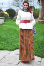 Windswept in a 70s maxi