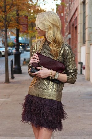gold Michael Kors sweater