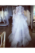 lace back Oscar de la Renta dress