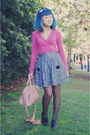 Black-oxford-tights-light-pink-bag-black-alchemy-heels-charcoal-gray-strip