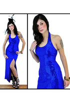 blue nova vintage clothing dress