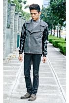 jacket Flying Dutchman jacket - plaid shirt Topman shirt