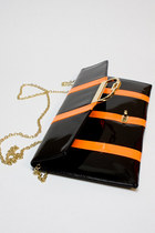 Black Neon Clutch Number A Purses
