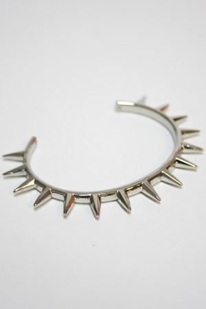 silver spike bracelet Number A bracelet