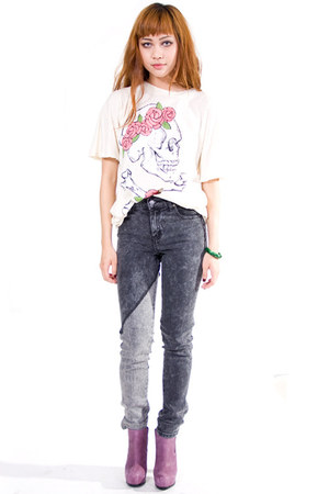 heather gray Cheap Monday jeans