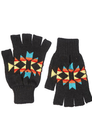 black Topshop gloves