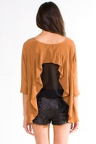 Bronze-funktional-blouse