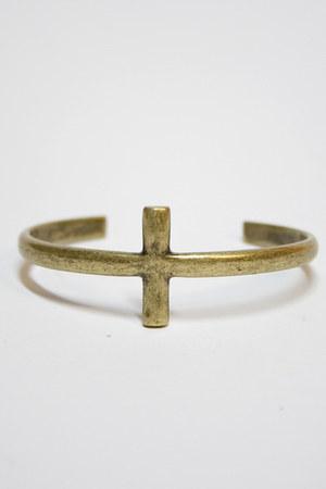 dark khaki Number A bracelet