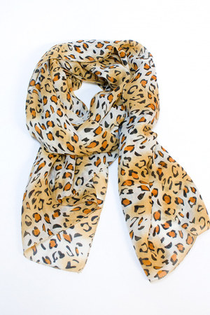 cheetah scarf Number A scarf