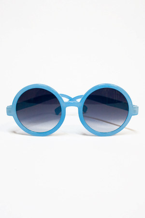 sky blue Number A sunglasses