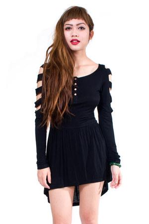 black BOTB dress