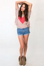 Denim-shorts-minkpink-shorts