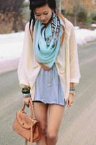 Light-blue-zebra-scarf-scarf