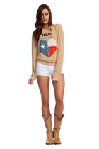 Beige-wildfox-couture-sweatshirt
