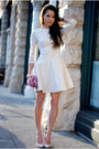 Off-white-bebe-dress-light-pink-boutique-9-heels