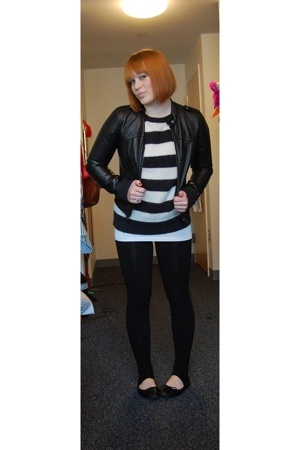 H&M jacket - Paul Frank sweater -