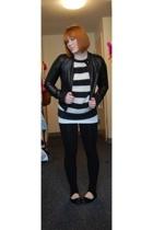 H&M jacket - Paul Frank sweater -