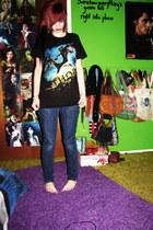 t-shirt - Levis jeans