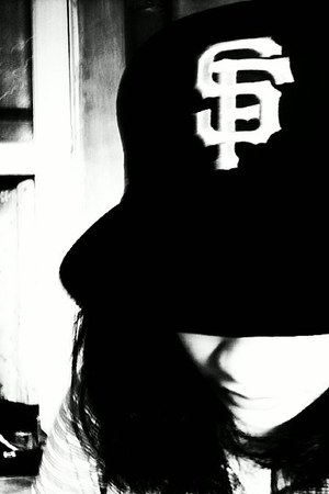 black sf hat