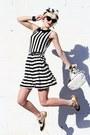 Black-inlovewithfashion-dress-white-vintage-bag