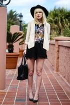 nude Indulgera blazer - black BCBG shorts