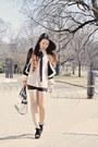 Black-and-white-forever21-jacket-black-and-white-jason-wu-for-target-bag