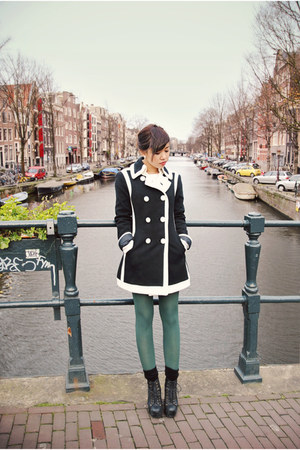 INC coat - Jeffrey Campbell boots